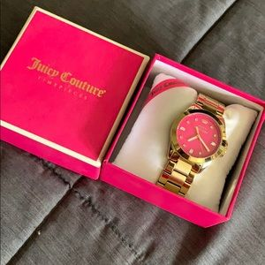 Great condition goldtone Juicy Couture watch
